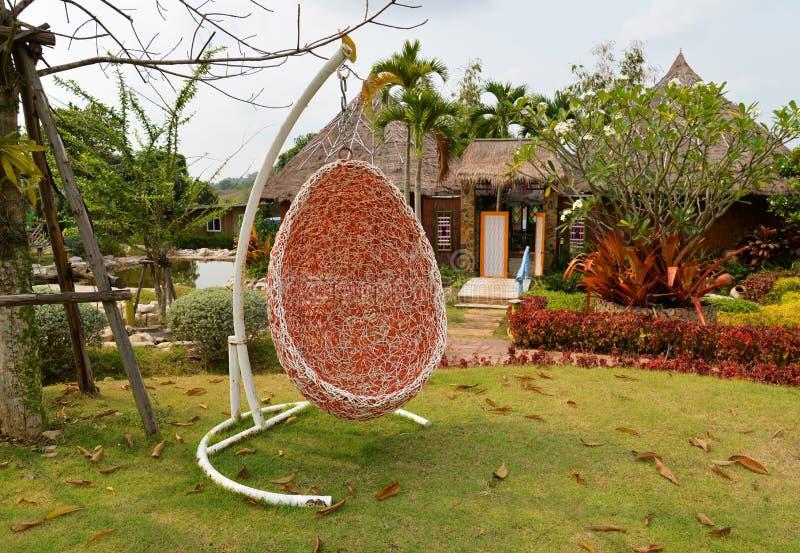 Crib hang style bird's nest stock images
