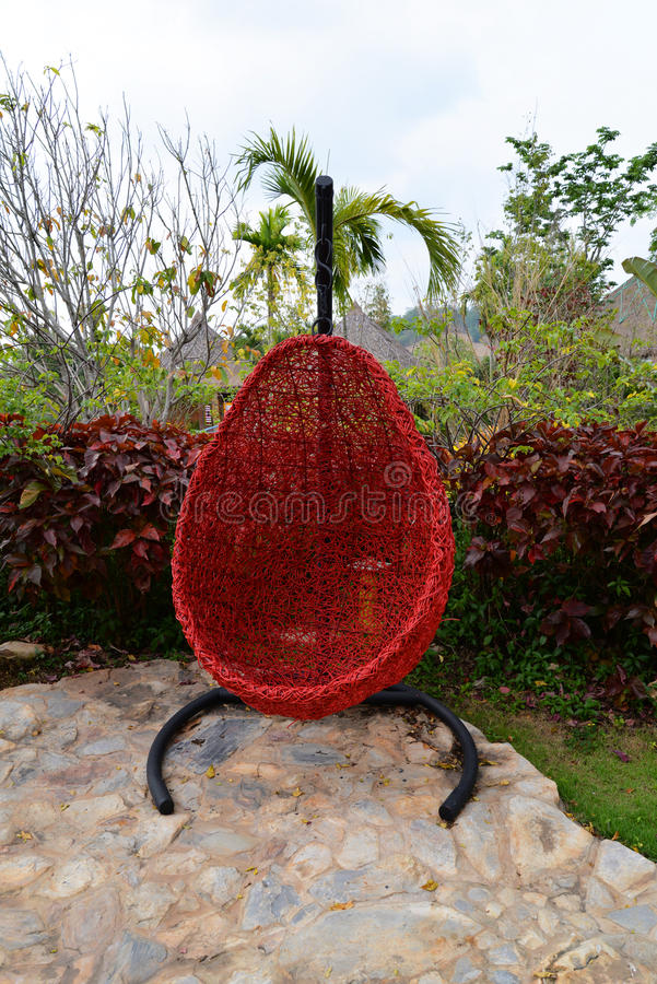 Crib hang style bird's nest royalty free stock photography