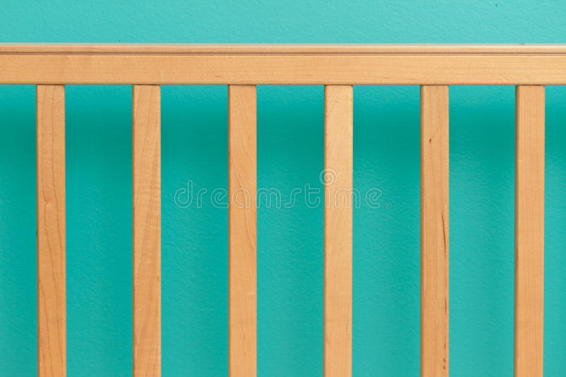 Crib Railing Royalty Free Stock Photography