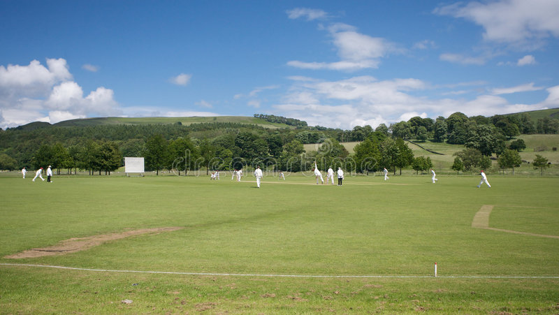 Download Cricket at Bolton Abbey stock photo. Image of rural, exercise - 5695520