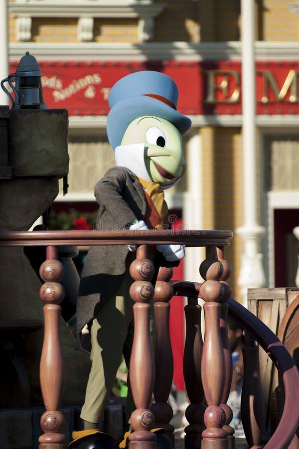 Cricket di Jiminy fotografia stock