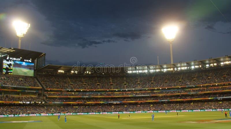 Cricket fans stock photos
