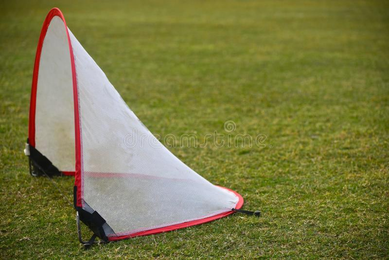 Cricket fielding practice materials stock photograph stock image