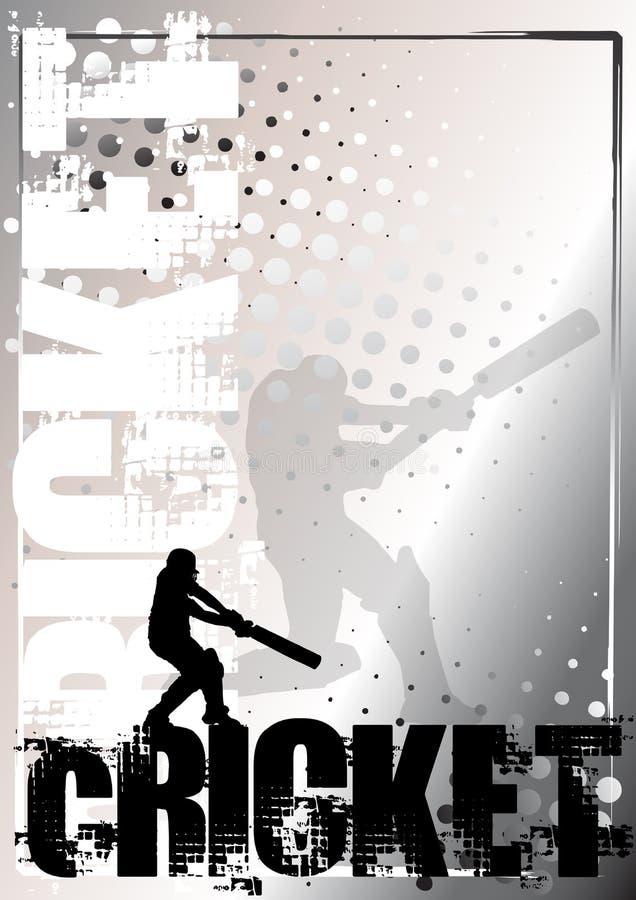 Cricket Golden Poster Background 2 Stock Photos