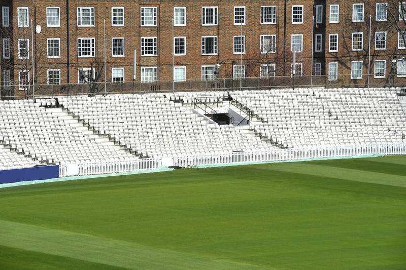 Download Cricket ground stock image. Image of chairs, stadium - 24168093