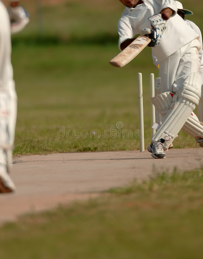 Free Cricket Match Stock Images - 811754