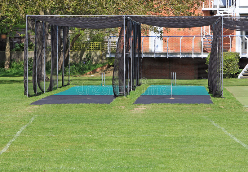 Download Cricket Nets stock image. Image of county, england, clubhouse - 9327129