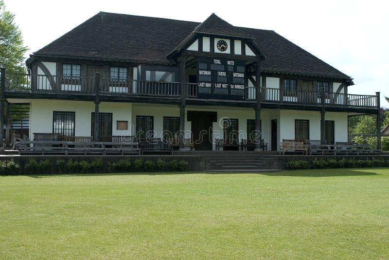 Download Cricket pavillion stock photo. Image of tudor, grass, green - 194394