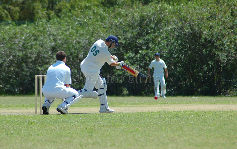Download Cricket player stock photo. Image of helmet, bale, field - 1400742