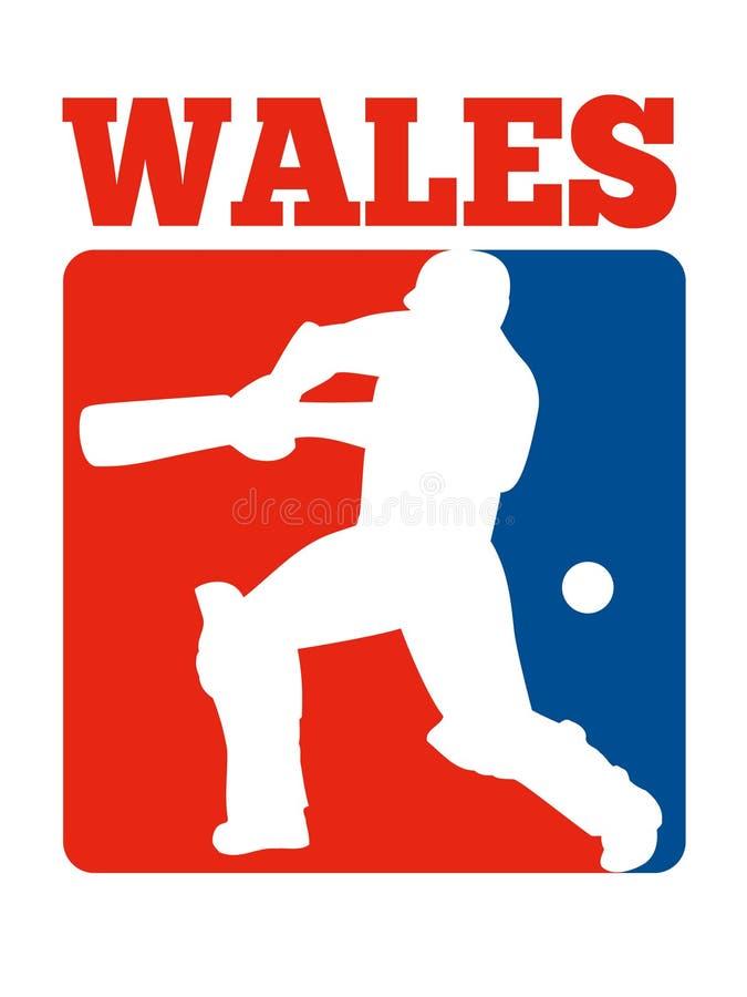 Download Cricket Player Batsman Batting Retro Wales Stock Illustration - Image: 21822913