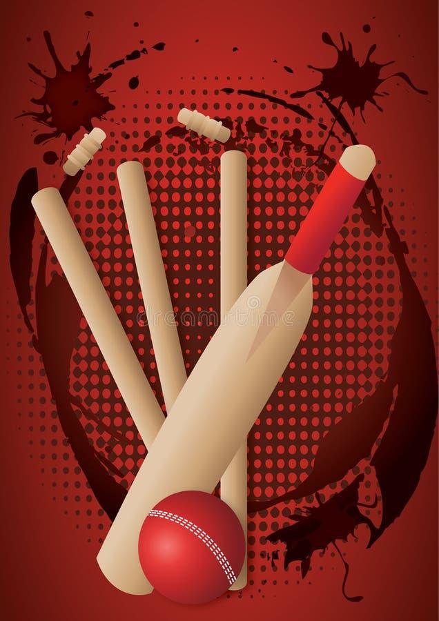 Download Cricket set stock vector. Image of activity, recreation - 17116828
