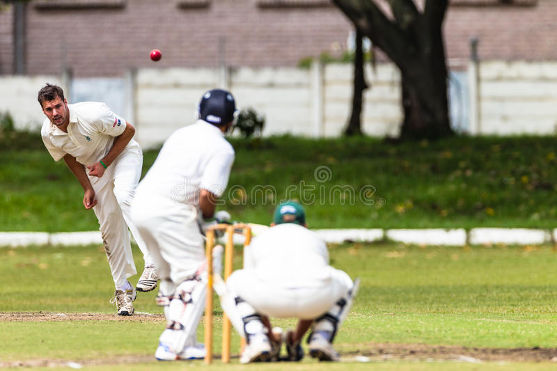 Cricket Spin Bowler Ball Batsman Editorial Photography