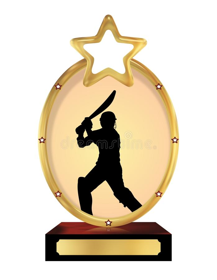 Download Cricket Trophy stock illustration. Image of illustration - 24090237