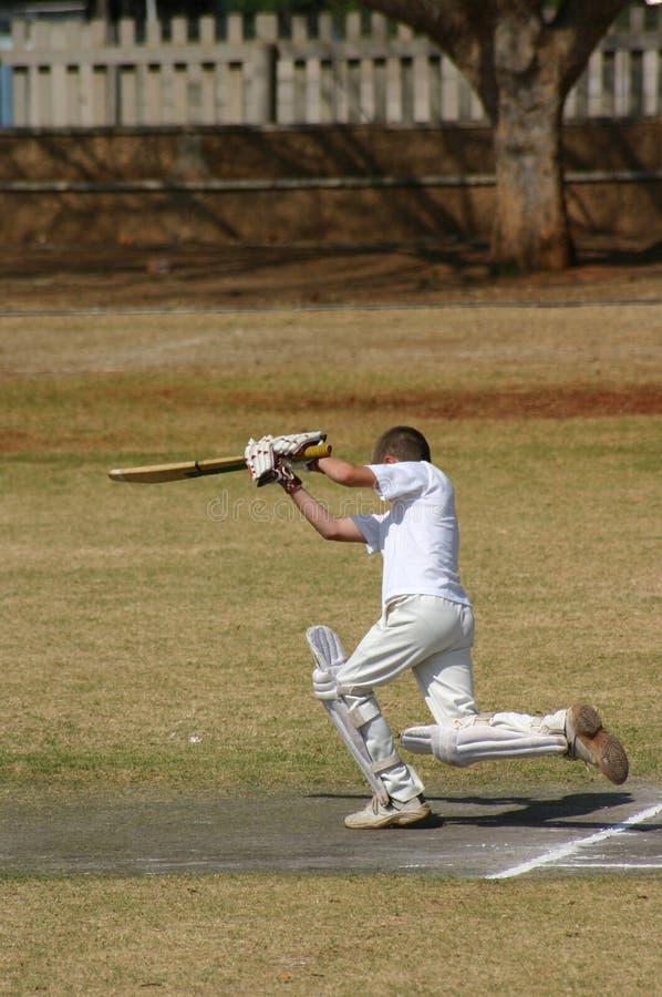 Cricketspeler stock foto