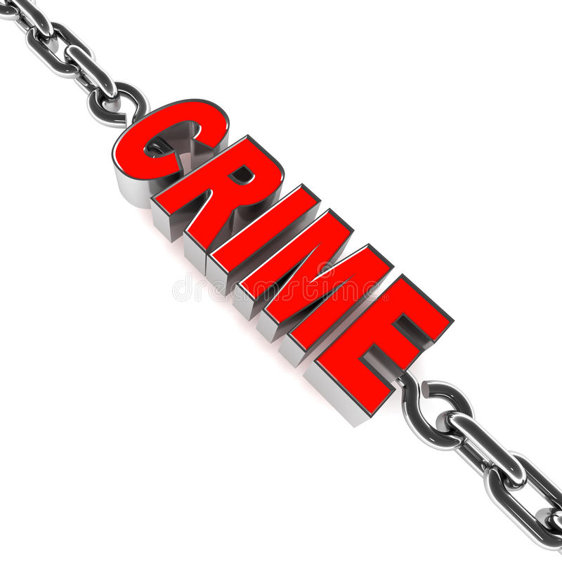 Download Crime stock illustration. Image of background, chain - 28952237