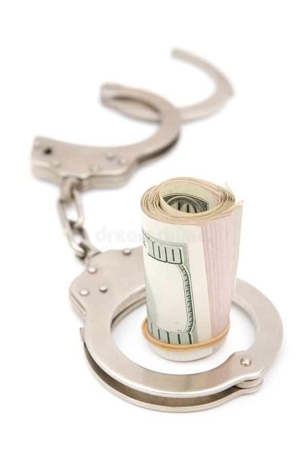 Crime d'affaires photographie stock