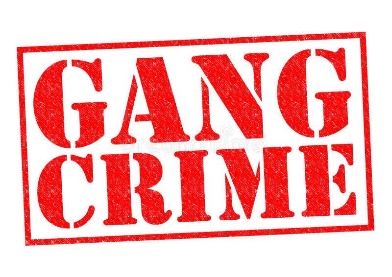 CRIME DE BANDE illustration stock
