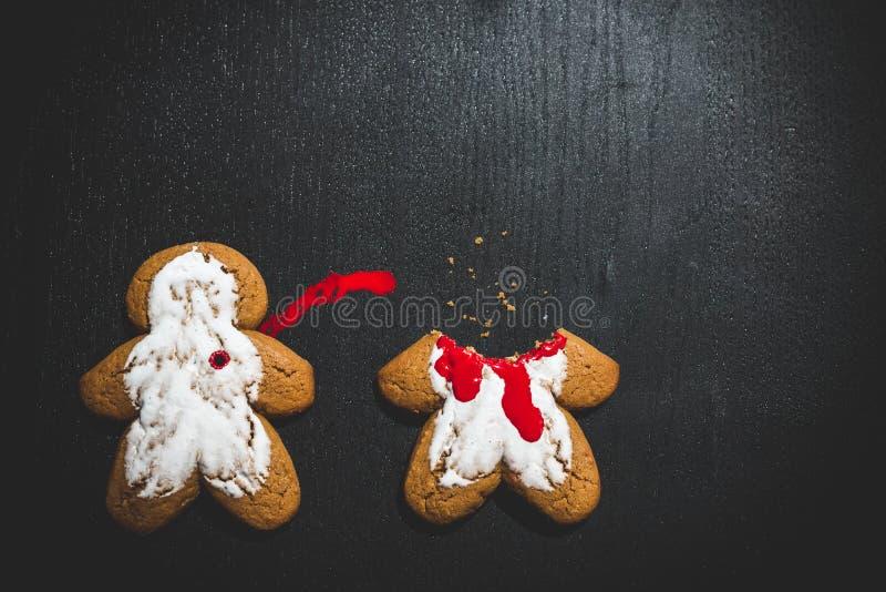 Crime de biscuit photos stock