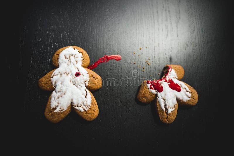 Crime de biscuit image libre de droits