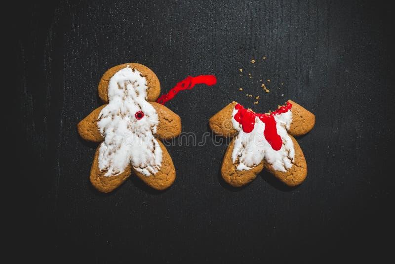 Crime de biscuit photographie stock libre de droits