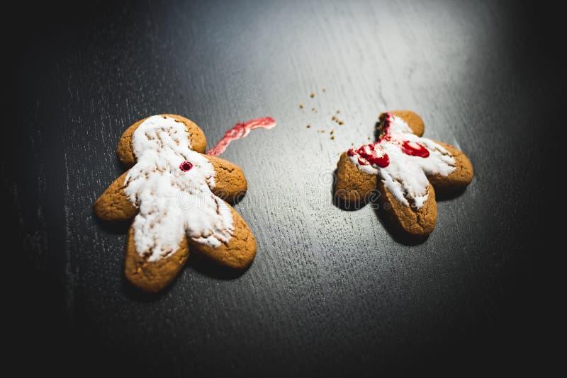 Crime de biscuit images libres de droits
