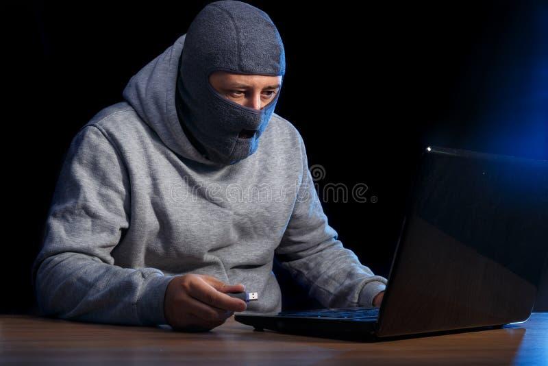 Crime do Cyber fotos de stock royalty free