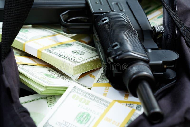 Crime financeiro imagem de stock