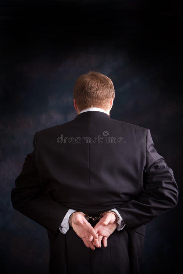 Download Crime intellectuel photo stock. Image du industriel, menotté - 18072828