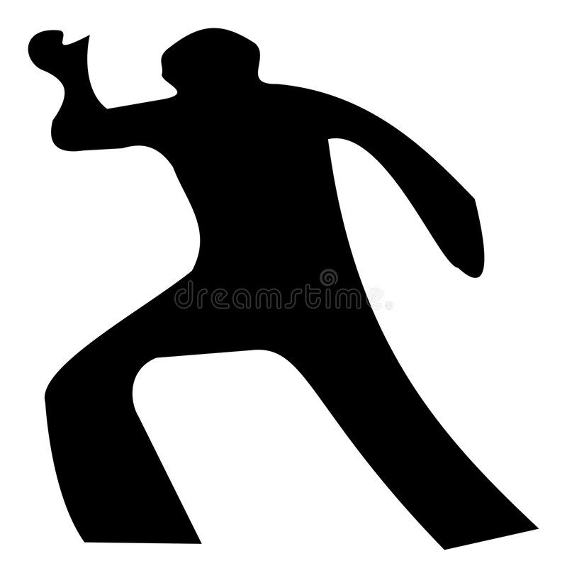 Download Crime scene stock vector. Image of graphic, detective - 8554823