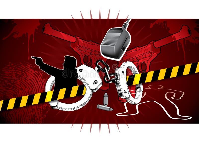 Crime scene royalty free stock photos