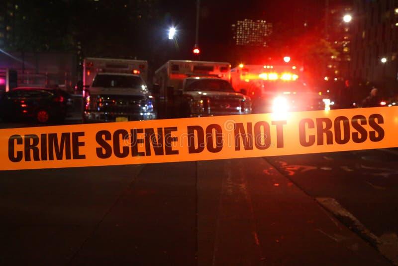 Crime Scene Do Not Cross royalty free stock image