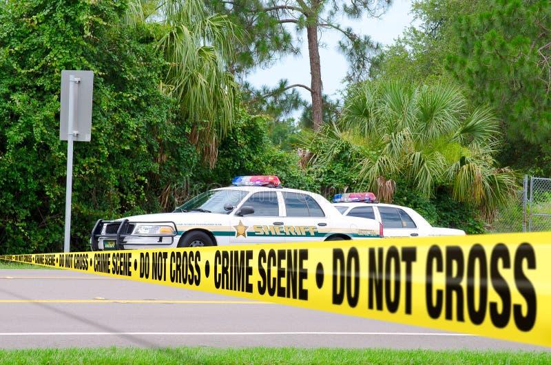 Crime scene investigation royalty free stock photos