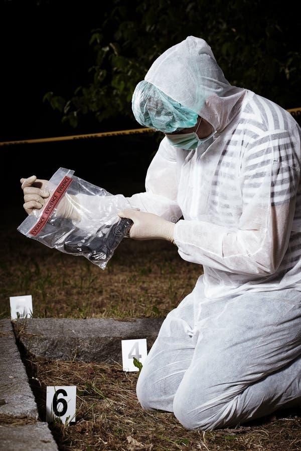 On crime scene royalty free stock photos