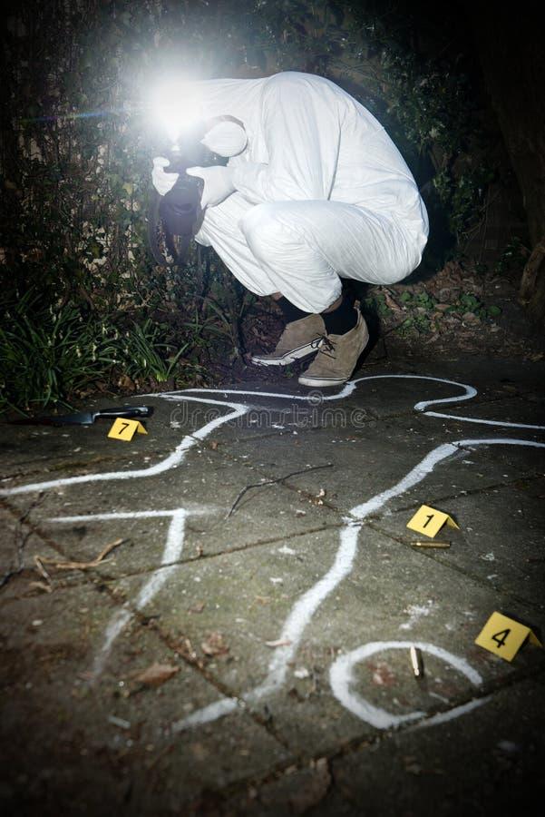 Free Crime Scene Photographer Royalty Free Stock Image - 30434356
