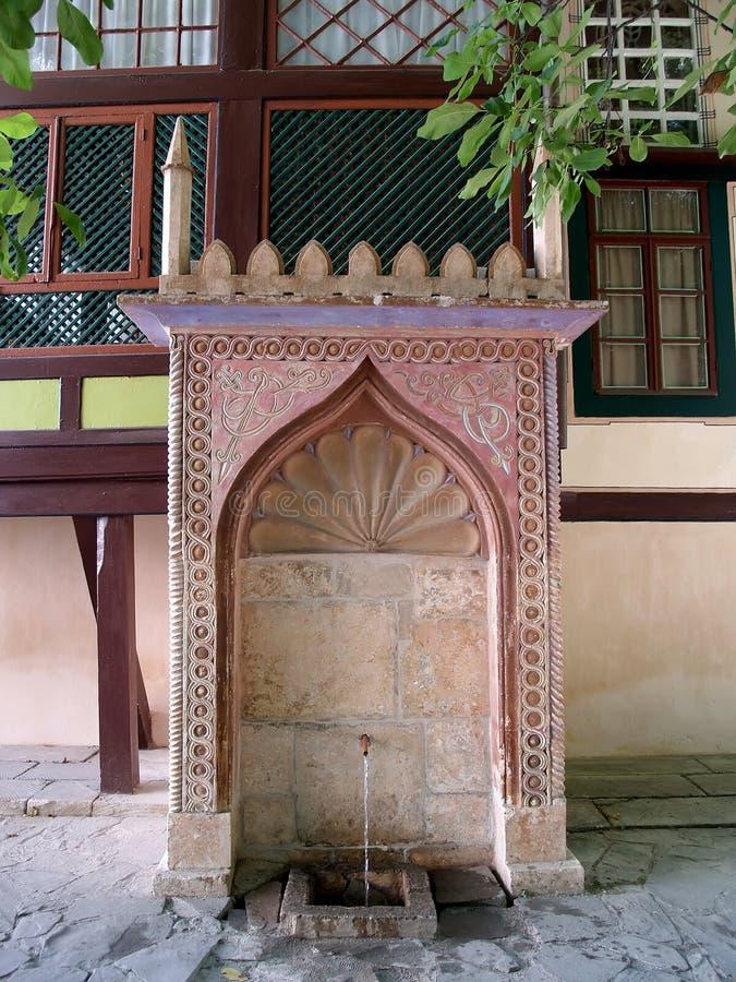 Crimea. The fountain in Bakhchisarai.  royalty free stock photo