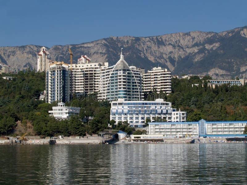 crimea Hotelowy kompleks w Yalta fotografia royalty free