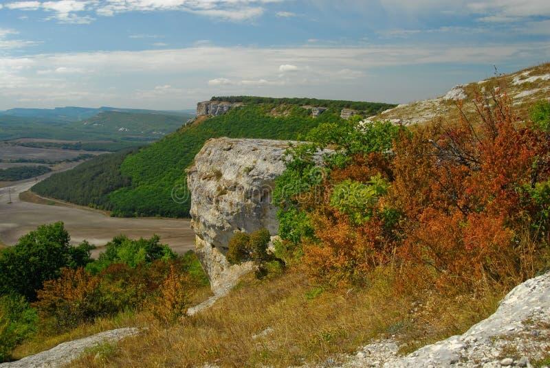 Crimea nature, Taz-Dzhargan royalty free stock image