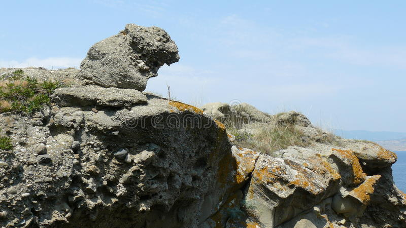Crimea skały 2 obraz royalty free
