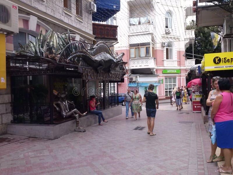 crimea yalta fotografering för bildbyråer