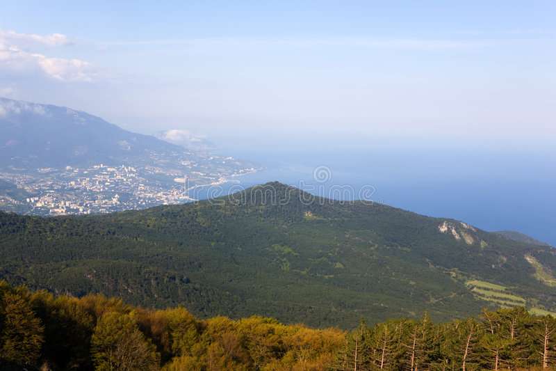 crimea Yalta obraz royalty free