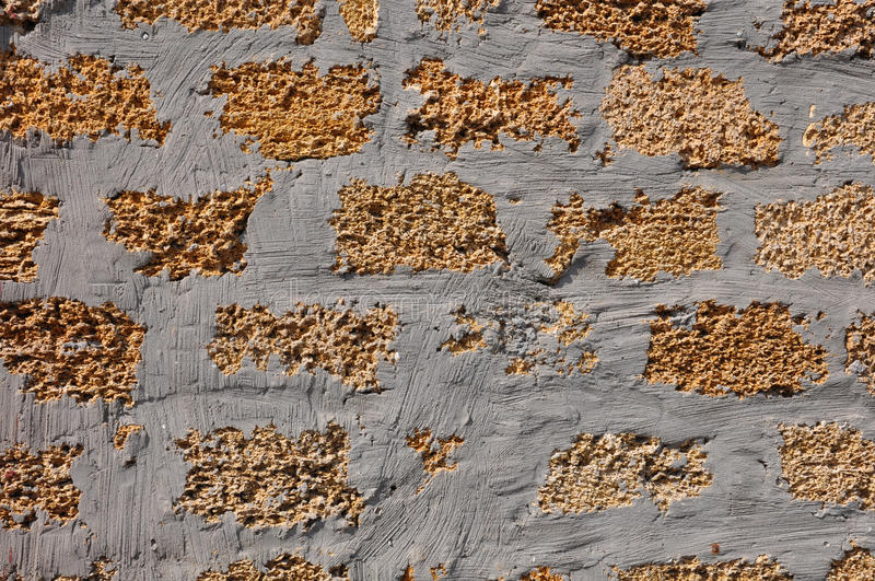 Crimean coquina stone yellow texture royalty free stock images