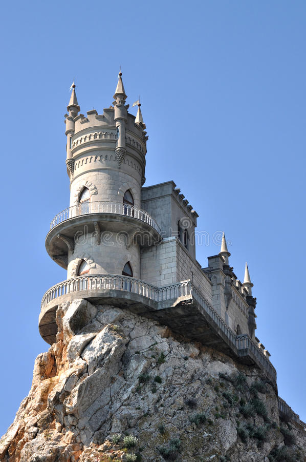 Free Crimean Panoramic Landscape Near Yalta The Well Known Castle Swallow S Nest In Crimea Ukraine Stock Image - 31351691