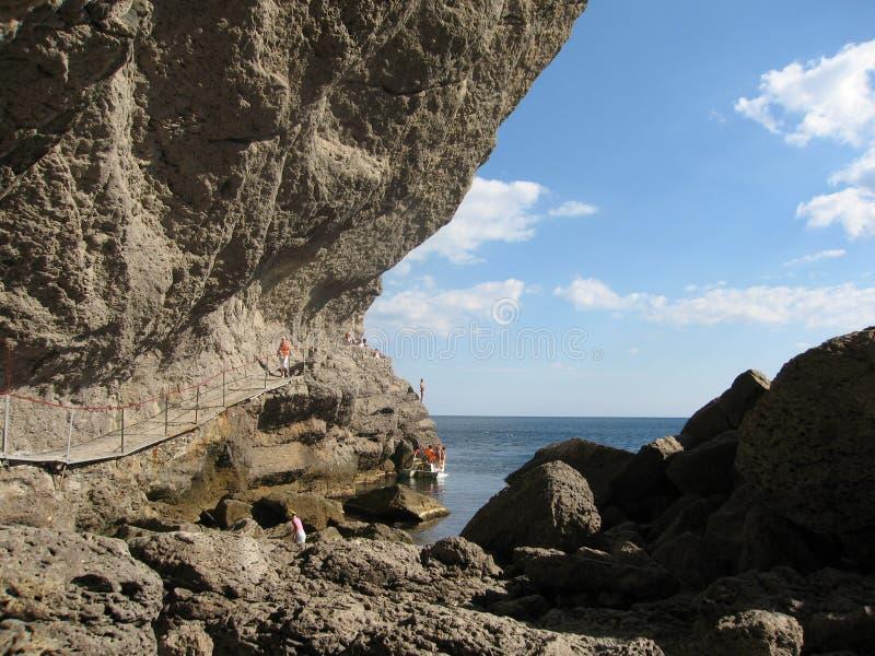 Crimeia, o Mar Negro fotos de stock