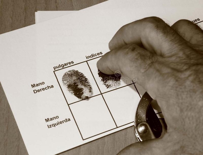 Criminal imagenes de archivo