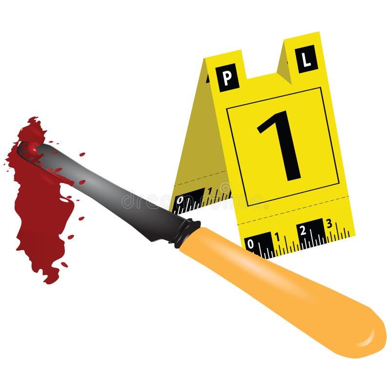 Download Criminal scene stock vector. Image of clue, device, sharp - 27606272