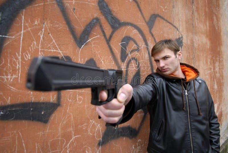 Criminale fotografia stock