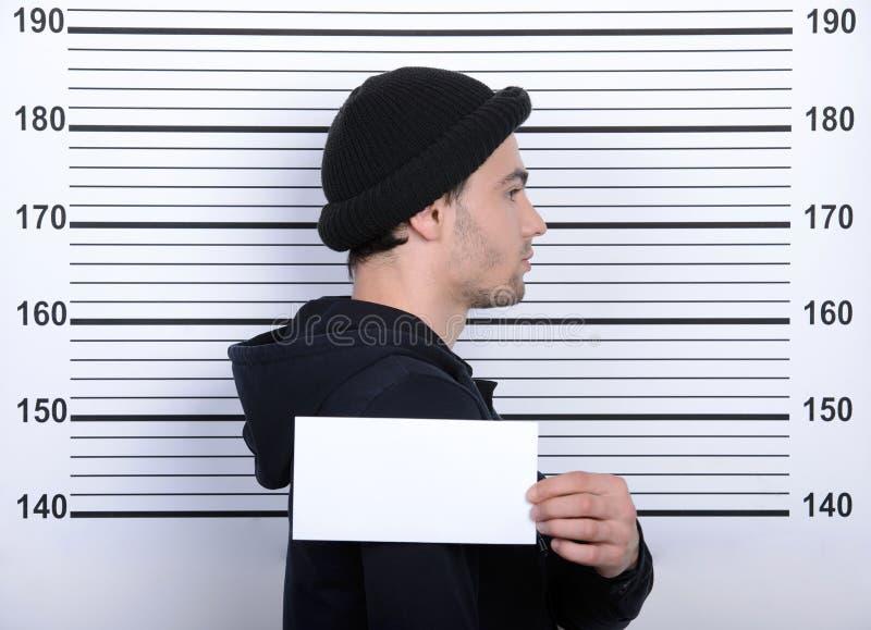 Criminality stock image