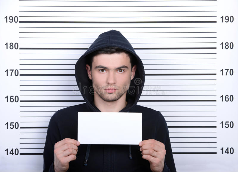 Criminality royalty free stock photo