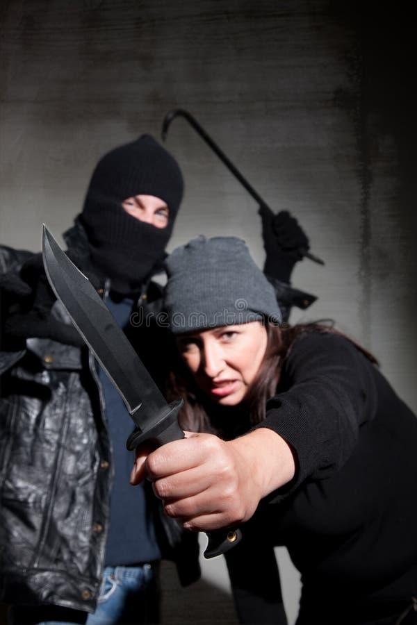 Criminals Stock Photo