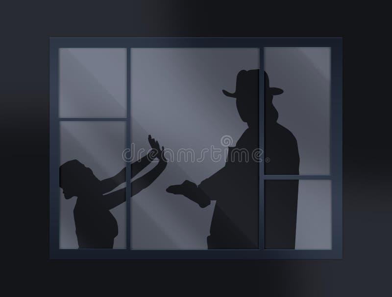 Crimine illustrazione di stock